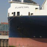Atlantic Sail am Reparaturdock
